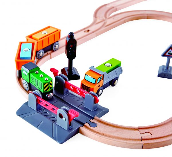 Crossing Rail of MUtable Crossing & Crane Set by Hape Toys