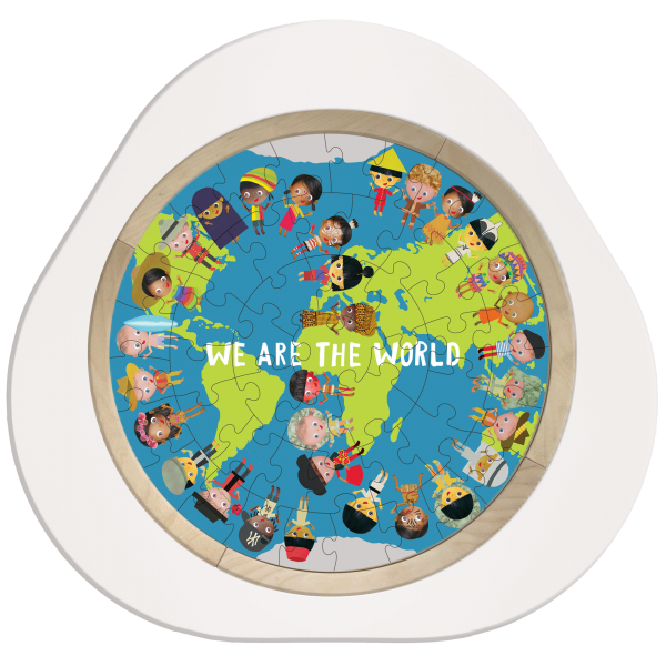 MUtable Puzzle We Are the World - Basic Kit Bun
