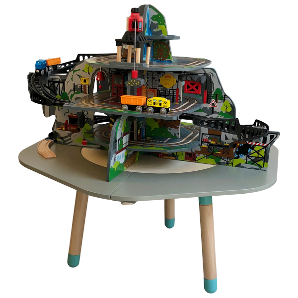 MUtable Mega Mountain Mine by Hape Toys on the Extension