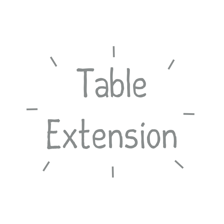 Text Table Extension
