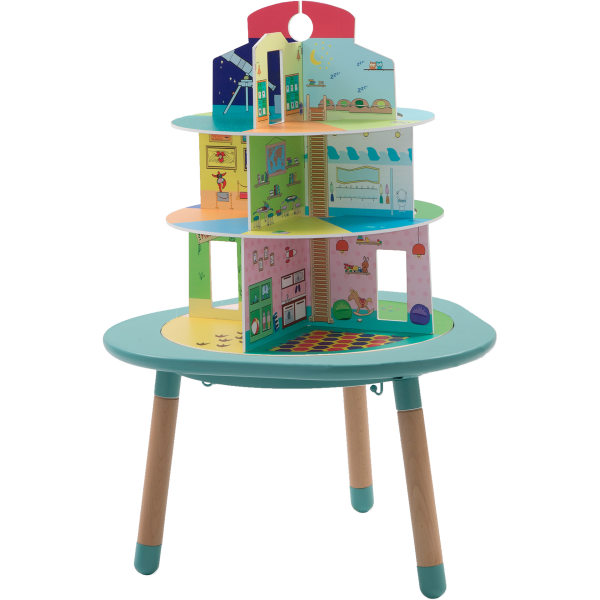 Dolls PLayhouse - MUtable with no furniture